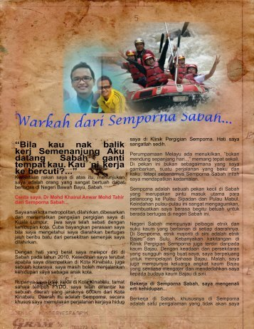 Testimony From Semporna, Sabah