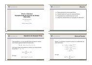 Transformada de Fourier de Sinais Discretos