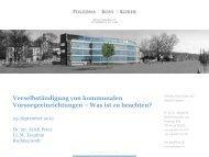 Präsentation Erich Peter - Poledna   Boss   Kurer
