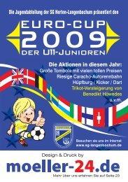 Eurocup Programmheft 2009 - SG 1928 Herten-Langenbochum eV ...