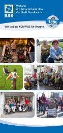 aktiv seit - Verband der Körperbehinderten der Stadt Dresden eV