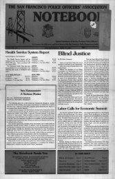 March 1993 - San Francisco Police Officers Association