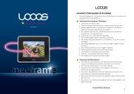 Istruzioni e Precauzioni di Sicurezza - Looqs.com