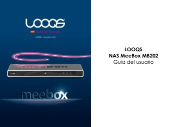 LOOQS NAS MeeBox MB202 Guía del usuario - Looqs.com