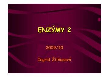 Enzýmy II