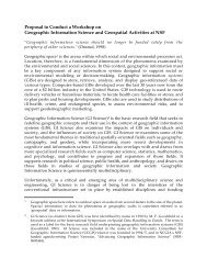 Workshop Proposal as Submitted to NSF (PDF) - NCGIA Buffalo ...