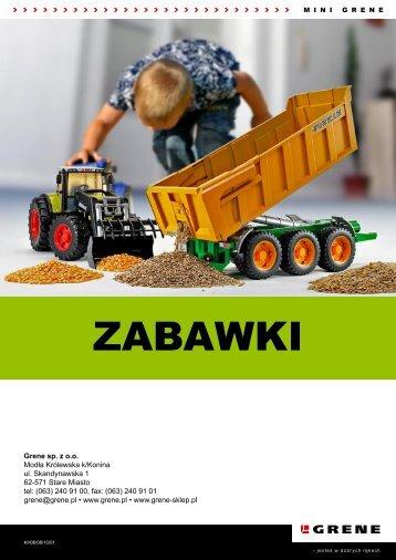 ZABAWKI - Grene