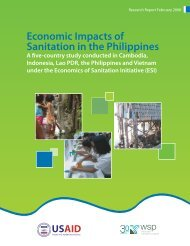 Economic Impacts of Sanitation in the Philippines - WSP