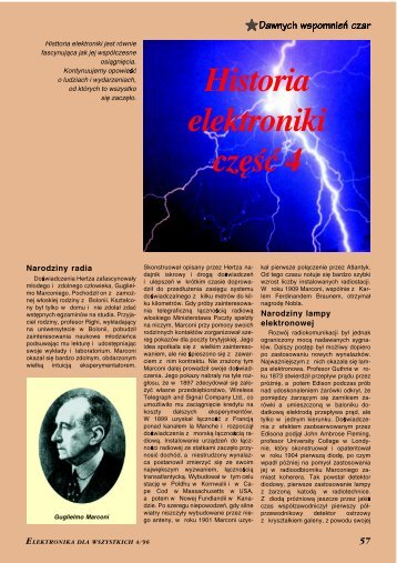 Historia elektroniki, cz. 4 - Elportal