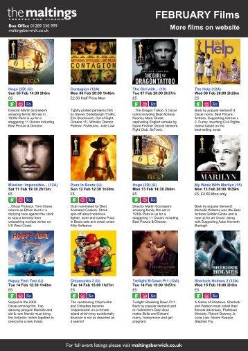FEBRUARY Films - The Maltings