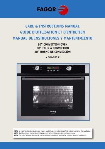 Oven Modes - Appliances