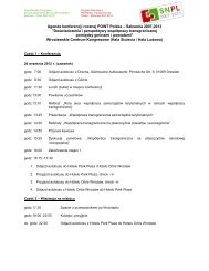 Program - Polen 2007-2013