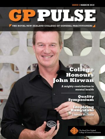 GP Pulse 03.2010 - The Royal New Zealand College of General ...