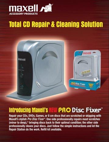 Pro Disc Fixer - Maxell Canada