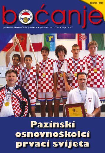 glasilo 18 - Hrvatski boćarski savez