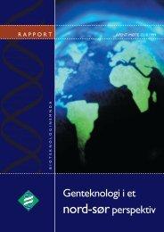 Genteknologi i et nord-sør-perspektiv - Bioteknologinemnda