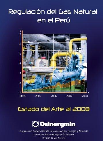 Regulación del Gas Natural en el Perú - osinergmin