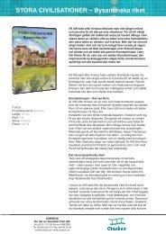 STORA CIVILISATIONER – Bysantinska riket - SLI.se