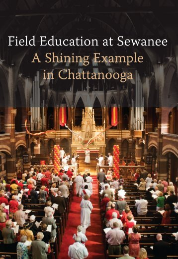 Field Education at Sewanee A Shining Example in Chattanooga