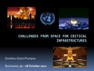 challenges from space for critical infrastructures - ARTS