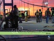 Annual Report Calendar Year 2010 - Maryland Transportation ...