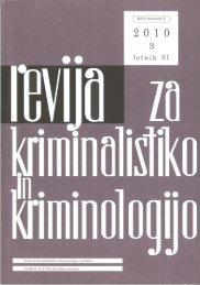 Revija 3, 2010 - Ministrstvo za notranje zadeve