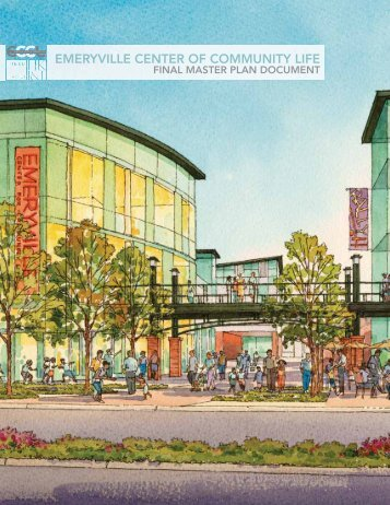 Conceptual Master Plan - Emeryville Center of Community Life