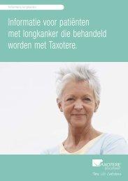 Informatie voor patiënten met longkanker die behandeld worden met ...