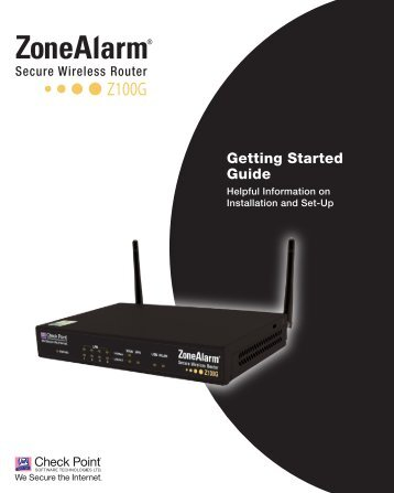 Z100G - Zonealarm
