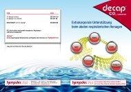 decap Broschüre in Deutsch (PDF) - gd medical AG