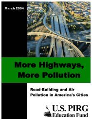 Road-Building and Air Pollution in America's Cities - PolicyArchive
