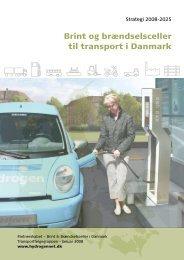Brint og brændselsceller til transport i Danmark - Strategi 2008-2025