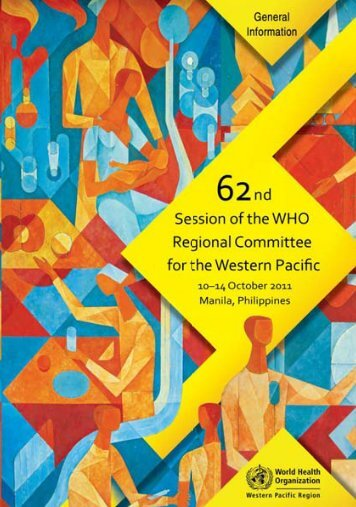General Information Booklet - WHO Western Pacific Region - World ...