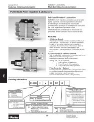 PL50M2R Parker Injection Lubricator Datasheet - MRO Stop