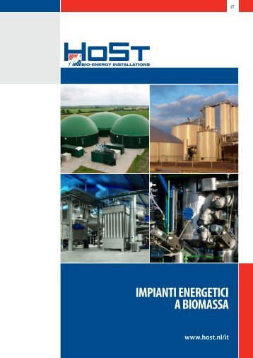 Brochure aziendale HoSt
