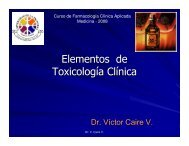 Toxicología - Facultad de Medicina UFRO