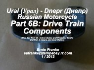 Part 6B: Drive Train Components - Good Karma Productions