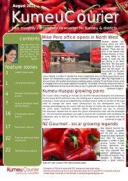 August 2013 - Kumeu Courier