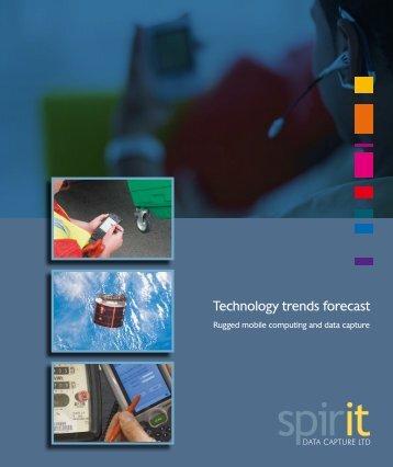 Technology trends forecast - Spirit Data Capture