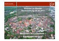 Wohnen in Coesfeld – kompakt ist gut! - Wohnen im Wandel