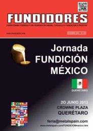 FUNDICIONES FERREAS Y NO FERREAS EN ARENA ... - Metalspain