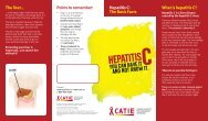 The Basic Facts What is hepatitis C? - CATIE