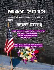 NEWSLETTER - the City of Lompoc!