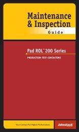 Pad ROL™200 Series - Johnstech