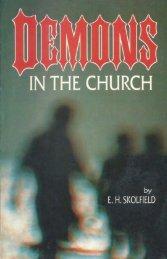 [1993 pdf] DEMONS in the CHURCH by Ellis H. Skolfield - Whale