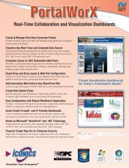 Real-Time Collaboration and Visualization Dashboards