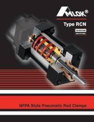 AMLOK Rod Clamp Series RCN - Minuteman Controls
