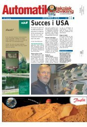Succes i USA - Teknik og Viden