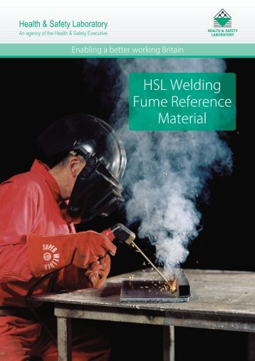 Welding Fume Reference Materials - Health and Safety Laboratory