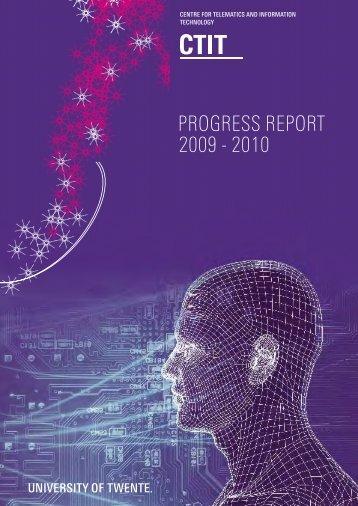 Progress Report 2009-2010 (pdf file) - Universiteit Twente